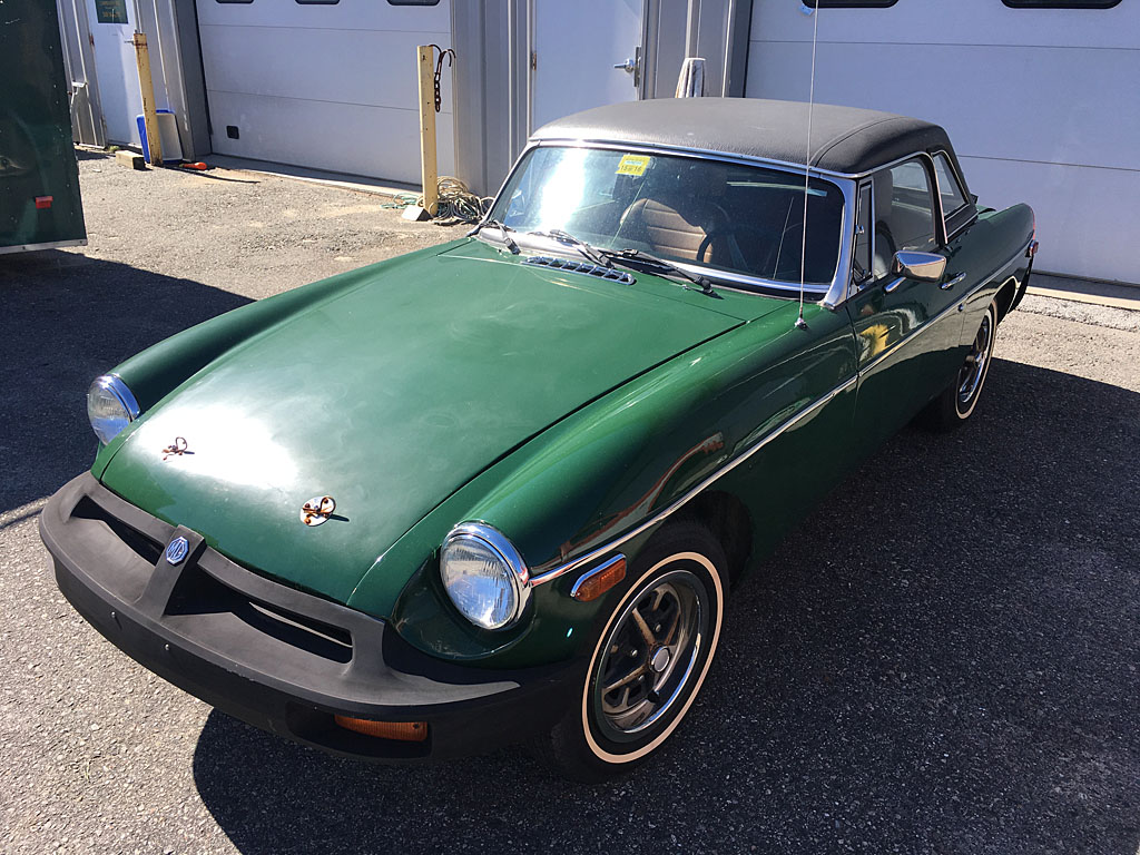 Boston Area MG Club - For Sale